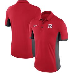 Rutgers Scarlet Knights Nike Evergreen Dri-FIT Polo - Red