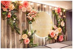 Do you like it? #backdrop #weddingplanner #weddingstyle #weddingdecor #decoration #paperflowers #DIY #handmade #paper #flowers #flowerbackdrop #beautiful #onstage #color #wooden #background #rustic #amazing #liveit #GEEKsg #GEEKdecorsg #Saigon #2016 #trangtri #tieccuoi #happywedding #savethedate #decorstyle #ideas