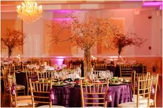Colorful wedding at The Villa! All Inclusive. #CateringbyUptown Jones Wedding 2014
