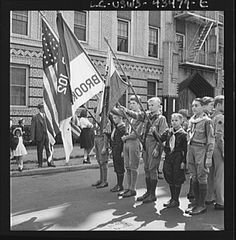Photos of the 1944 Anniversary Day parade in Brooklyn, NY courtesy of the Library of Congress.