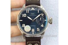 IWC Big Pilot Real PR IW5009 SS YLF Blue Dial A51111