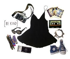 """""""radiohead"""" by stelthomas on Polyvore featuring Traits, HAMNETT, Converse, Eos, Acne Studios, Michele and Disney Couture"""