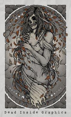 Mrs Fall by DeadInsideGraphics on deviantART