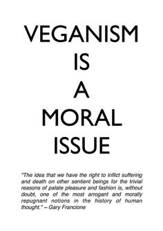 I'm not vegan but this is a good reminder!