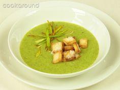 Vellutata di zucchine con crostini al parmigiano: Ricette Cucina Vegetariana | Cookaround