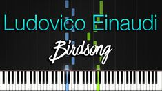 Introducing another Synthesia Piano Tutorial from italian new age pianist and composer Ludovico Einaudi titled Birdsong from his album Seven Days Walking - D. Piano Tutorial, Latest Albums, New Age, Butterflies, Walking, Tutorials, Neon Signs, Butterfly, Walks