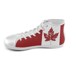 15a6627a74 Cool Canada Kid s Sneakers Hightops High Top Canvas Kid s Shoes (Model 002)  by Artist