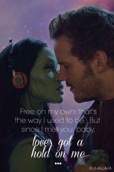 Star-Lord and Gamora ~ Guardians of the Galaxy ~ Fooled Around and Fell in Love ~ Elvin Bishop