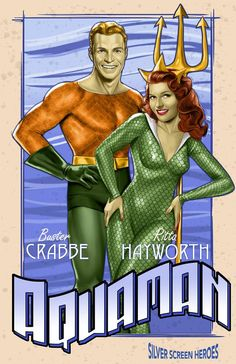 Fanart series imagines Clark Gable and other Hollywood legends as DC and Marvel superheroes