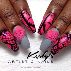The Love Of Mixed Media by KerlysNails from Nail Art Gallery