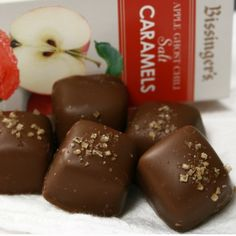 Apple Ghost Chili Salt Caramels: Buy Apple Ghost Chili Salt Caramels Online, Read Reviews at igourmet.com