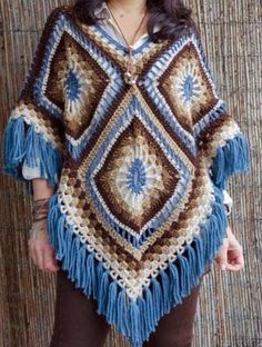 See that crochet square elegance with video tutorial especially for you - Crochet Works