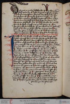 Cod. Pal. germ. 4 Rudolf von Ems: Willehalm von Orlens ; Dietrich von der Glesse: Der Gürtel (Borte) ; Peter Suchenwirt: Liebe und Schönheit u.a. — Schwaben/Grafschaft Oettingen (?), 1455-1479 19v