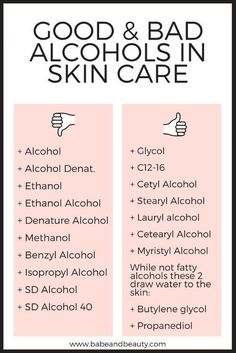 alcohol in skin care #haircarehacks #nailcareroutine