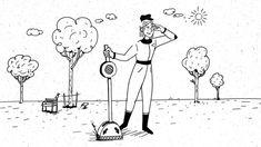 Animierte Gedankenexperimente    Kunde: SRF Sternstunde Philosophie  Animation: Nino Christen  Sounddesign: Martin Bezzola Animation, Christening, Snoopy, Fictional Characters, Art, Philosophy, Art Background, Kunst, Fantasy Characters