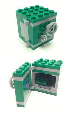Crazy Easy Lego Machine Designs That Work // [theendearingdesig. Lego Design, Lego Friends, Lego Patent, Lego Deadpool, Lego Batman, Instructions Lego, Lego Hacks, Casa Lego, Lego Furniture