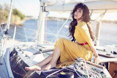 Nina - Natural Light by Dani Diamond on 500px   sailboat sunlight natural light portrait photography