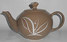 Winfield China Pottery Desert Dawn Teapot W/lid