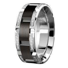 awesome The Durable Material of Titanium Wedding Bands for Men