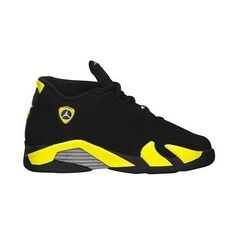 Jordan Retro 14 Boys Preschool ($75) ❤ liked on Polyvore featuring shoes, jordans and sneakers