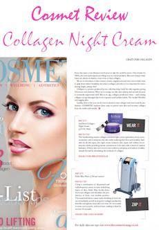Review on Collagen Night Cream!