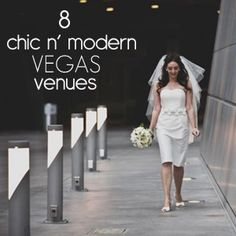 8 Totally Modern and Minimal Vegas Wedding Spots