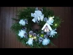 Jana Melas Pullmannová: Christmas outside on the door The Doors, Hanukkah, Christmas Wreaths, The Outsiders, Holiday Decor, Youtube, Home Decor, Decoration Home, Room Decor