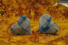 Aretas de corazón Tsuru Creaciones