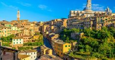 Principais pontos turísticos em Siena #viajar #viagem #itália #italy