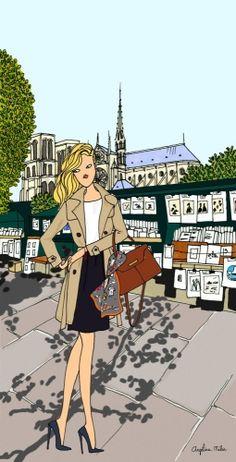 Quai des bouquinistes - Paris (Angéline Melin)