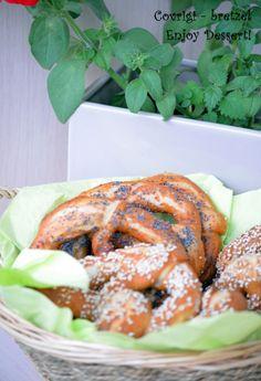Covrigi - bretzel_1 Romanian Food, Shrimp, Carrots, Meat, Vegetables, Desserts, Pretzels, Foods, Tailgate Desserts