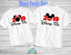 Family disney world shirts 2019, Disney Family Shirts, Matching Family Disney Shirts, Personalized D