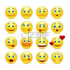 smiley face: emotional face icons