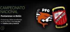 Campeonato Nacional. Puntarenas vs Belén, Puntarenas y Belén se enfrentan en el Lito Pérez. Véalo en vivo en Teletica.com y canal 33