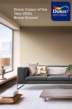 Dulux Paint Colours For Bedroom, Dulux Paint Colours Neutral, Warm Bedroom Colors, Best Neutral Paint Colors, Basement Paint Colors, Interior Wall Colors, Paint Colors For Living Room, Paint Walls, Interior Ideas