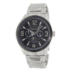 Police - Mens Atlanta Silver Watch - 13894JSSB-02M   Online price: £149.00  www.lingraywatches.co.uk