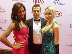 Yesterday was a truly unforgettable and wonderful evening! ❤ Here with my beautiful friend Petra and Lothar Matthäus. #galiabrener #YesNoMaybe #galiainaction  Check out my lifestyle/fashion blog: www.galiabrener.com and fb page: www.facebook.com/galiabrener. Thanks smile emoticon