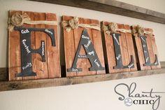 Fun DIY fall décor project