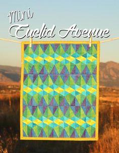 Mini Euclid Avenue Quilt Pattern   Craftsy