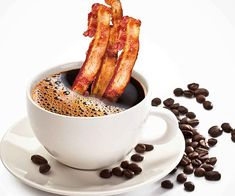 Image result for Bacon and Coffee