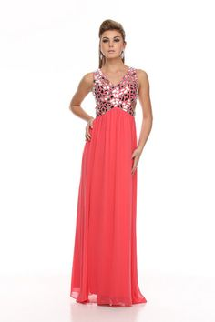 A-Line/Princess Floor-Length Charmeuse Evening Dress With Fully Beading Sequins