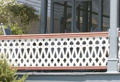 The American front porch had its heyday in the late century, when boxy houses gave way to free-form masterpieces. Check out these colorful, highly decorated examples of rocking-chair heaven. Victorian Porch, Victorian Homes, Victorian Era, Porch Balusters, Front Porch Railings, Front Porches, Porch Railing Designs, Sleeping Porch, Porch Posts