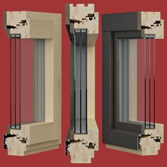 model Extra Trend for www. 3d Max Vray, Wood Windows, 3d Visualization, Red Background, Cgi, Wood Working, Objects, Architecture, Furniture