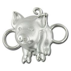 SS pig charm