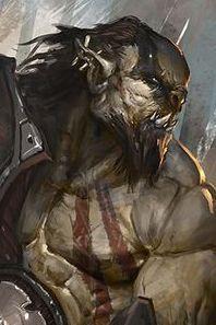 Orco Son fieros luchadores regidos por sis códigos y hábiles herreros peligro 7-9