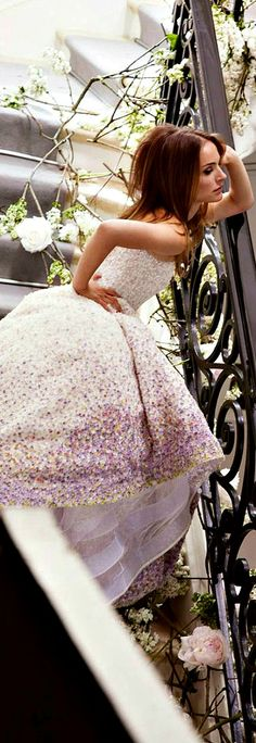 Natalie Portman for Miss Dior Blooming Bouquet Campaign - PIN BY Natalie Allaverdova