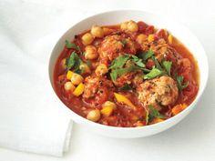 images of foodnetwork stews recipes | Spanish Turkey Meatball Stew Recipe | Bon Appetit