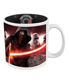 Look at this The Force Awakens Kylo Ren 'First Order' Supreme Mug on #zulily today!