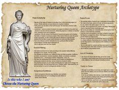 Archetype Profile Nurturing Queen