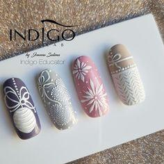「indigo nails effect holo pink」の画像検索結果